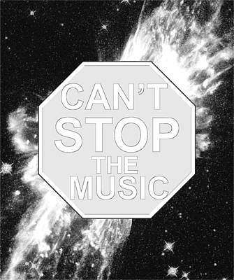 Can't Stop The Music Poster