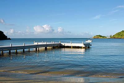 Carlisle Bay Beach, Antigua, West Poster