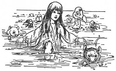 Carroll Alice, 1907 Poster by Granger