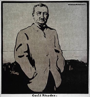 Cecil John Rhodes (1853-1902) Poster by Granger