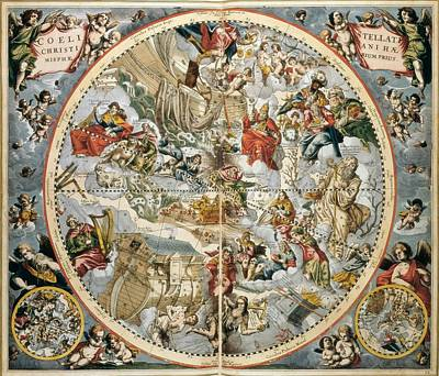Cellarius, Andreas 1596-1665. Atlas Poster