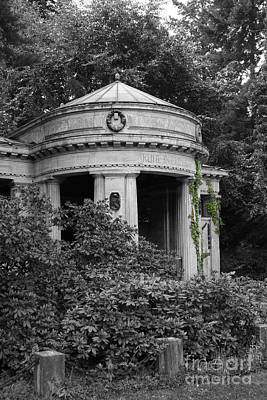 Cemetery Stahnsdorf Berlin Poster by Art Photography