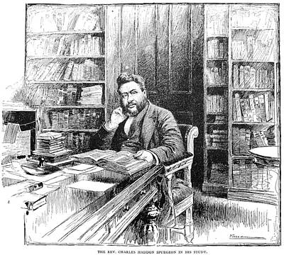 Charles Haddon Spurgeon (1834-1892) Poster by Granger