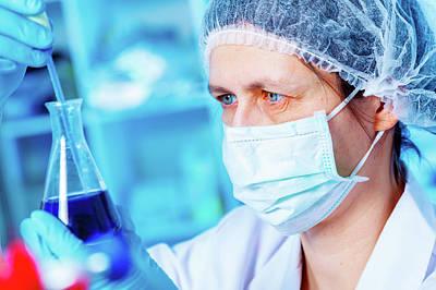 Chemical Research Poster by Wladimir Bulgar