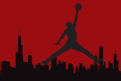 Chicago Bulls Poster by Joe Hamilton