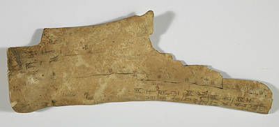 Chinese Oracle Bone Poster by British Library