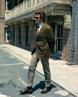 Clint Eastwood In Dirty Harry  Poster by Silver Screen