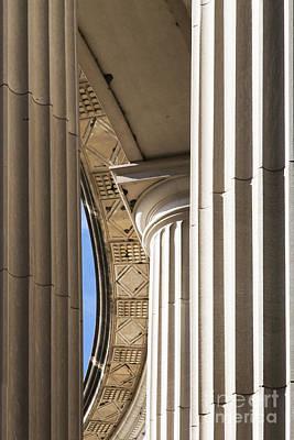 Columns Of War Memorial Poster