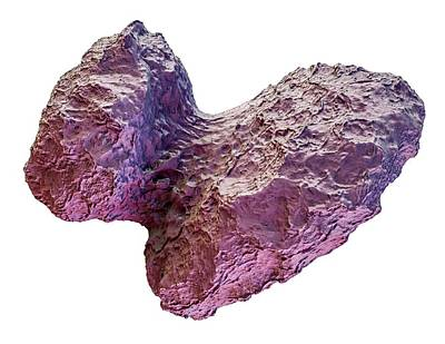 Comet Churyumov-gerasimenko Poster by Maurizio De Angelis
