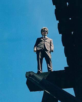 Dirty Harry  Poster by Silver Screen