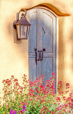 Doors Of Santa Fe Poster by Roselynne Broussard
