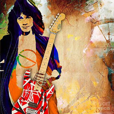 Eddie Van Halen Special Edition Poster