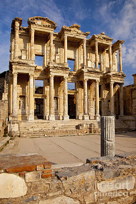 Ephesus Turkey Poster by Brian Jannsen