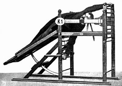 Exercise Machine, 1896 Poster by Granger