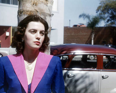 Faith Domergue Poster by Silver Screen