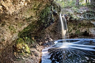 Falling Creek Falls Poster by Rich Leighton