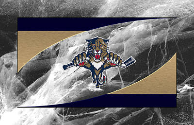 Florida Panthers Poster by Joe Hamilton