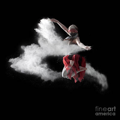 Flour Dancer Series Poster by Cindy Singleton