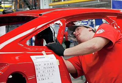 Ford Focus Assembly Line Poster