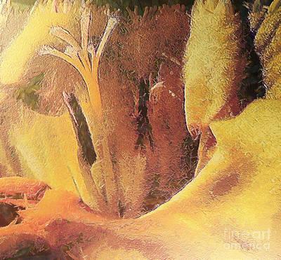 Freesia Flower Poster