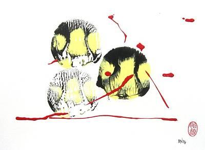 Fugu Ichi Poster by Roberto Prusso