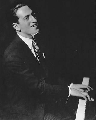 George Gershwin (1898-1937) Poster