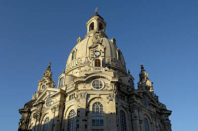 Germany, Saxony, Dresden, Frauenkirche Poster by Tips Images