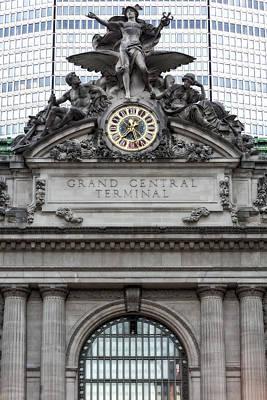 Grand Central Terminal Facade Poster by Susan Candelario