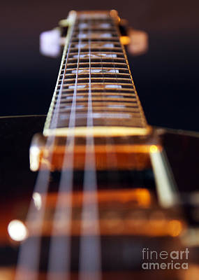Guitar Poster by Stelios Kleanthous