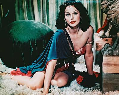 Hedy Lamarr In Samson And Delilah  Poster by Silver Screen