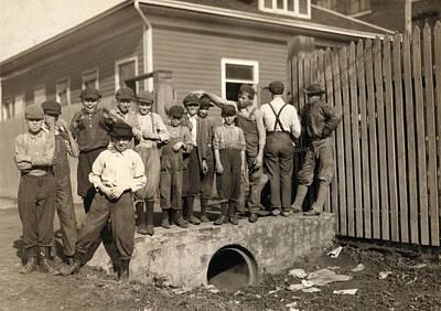 Hine Child Labor, 1913 Poster