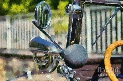 Horn On 1929 Chevrolet International 2ac Poster