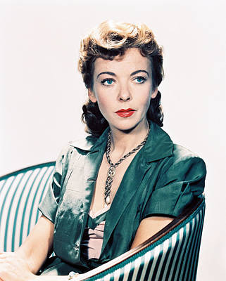 Ida Lupino Poster by Silver Screen