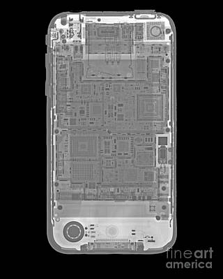 Iphone X-ray Poster