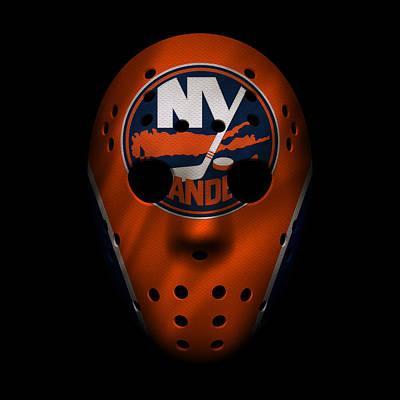 Islanders Jersey Mask Poster
