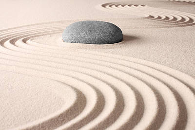 Japanese Zen Garden Poster by Dirk Ercken