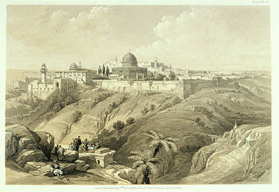 Jerusalem Poster by British Library