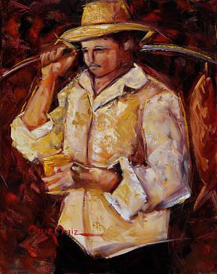 Jibaro De La Costa Poster by Oscar Ortiz