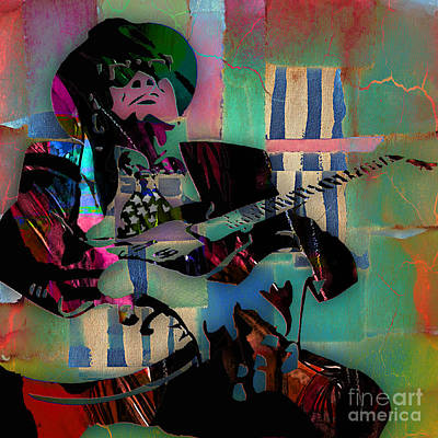 John Lee Hooker Collection Poster by Marvin Blaine