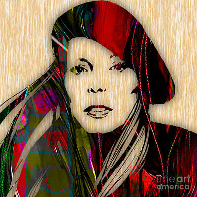 Joni Mitchell Collection Poster by Marvin Blaine