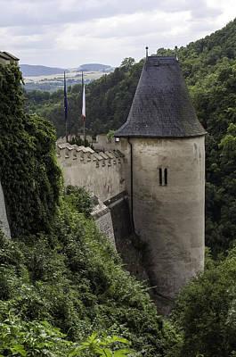 Karlstejn Castle. Poster by Fernando Barozza