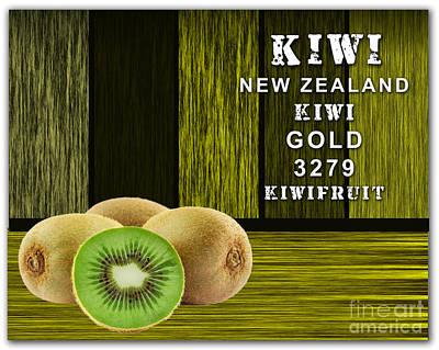Kiwi Farm Poster by Marvin Blaine