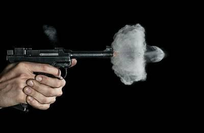 Lahti Pistol Shot Poster