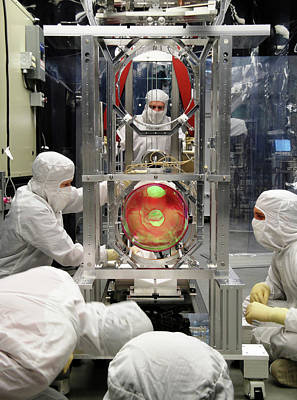 Ligo Gravitational Wave Detector Optics Poster