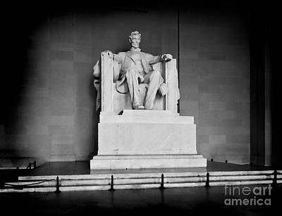 Lincoln Memorial Poster by Lane Erickson