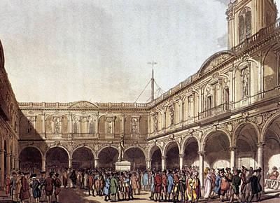 London Royal Exchange Poster