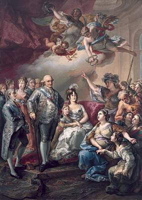Lopez Y Porta�a, Vicente 1772-1850 Poster