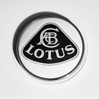 Lotus Emblem Poster by Jill Reger