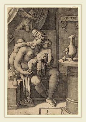 Lucas Van Leyden Netherlandish, 1489-1494-1533 Poster by Litz Collection