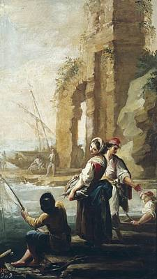 Maella, Mariano Salvador 1739-1819 Poster